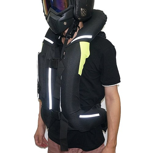 NEW Upgraded Motorcycle Air-bag Vest Moto Racing Professional Advanced Air Bag system motocross protective airbag
