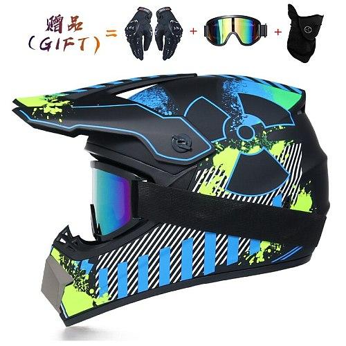 Professional Lightweight Off-road Motorcycle Helmet Racing Bike Children ATV Off-road Vehicle Downhill DH Cross Helmet Motocross