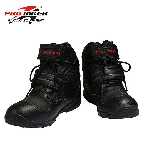 Soft Motorcycle Boots PRO boot biker waterproof SPEED Motorboats Men motocross boots Non-slip motorcycle shoes