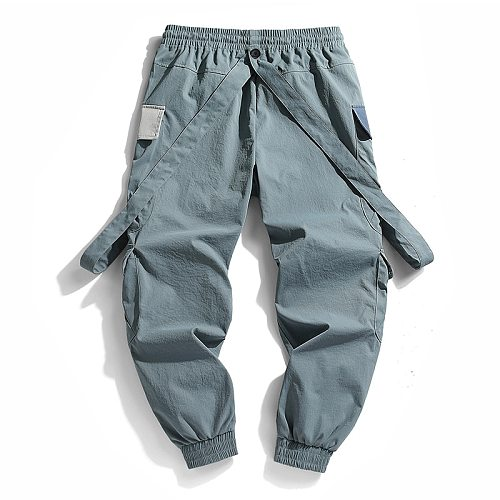 CHAIFENKO 2021 New Hot Jogger Leisure Sports Trousers Men Hip Hop Streetwear Beam Foot Cargo Pants Fashion Printing Men Pants