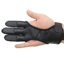 1Pc Fingers High Elastic Hand Guard Protective Archery Bow Shooting Glove for Recurve Compound Bow hunting Fit LH / RH Accessory