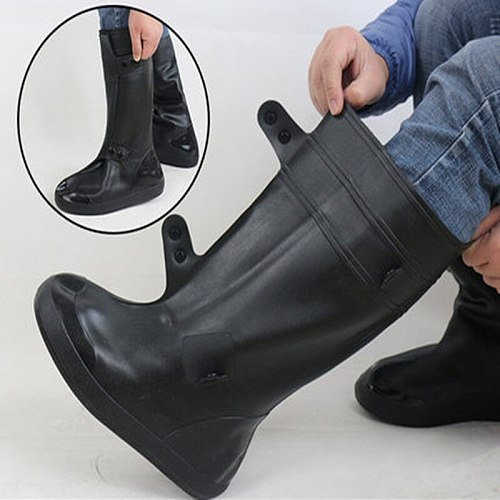 Waterproof Reusable Motorcycle Cycling Bike Rain Boot Rain Covers Easy To Ride For Rider