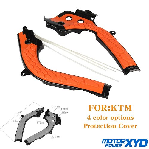 Motorcycle Frame Protection Guards cover Fit For HUSQVARN TC125 FC250 FC350 FC450 SX125 150 250 350 450 2016-2018