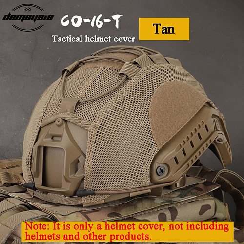 Tactical Multicam Helmet Cover Airsoft Paintball Wargame Gear FAST Helmets Covers Protect Shooting Military Helmet Accessories