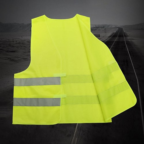 Highlight Reflective Straps Night Running Riding Clothing Vest Adjustable Safety Vest Elastic Band For Adults and Children