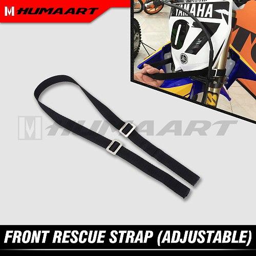 HUMAART Front Fork Pull Sling Strap Lift Belt for Motocross Enduro Dirt Bike Motorcycle Beta as Shown