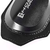 Moto Knee Sliders, Black Protective Motorcycle Kneepad Pucks Motocross Bike Bicycle Pads Protective Guards, Black
