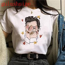 one directio Harajuku Graphic Tshirt Women Fine Line Aesthetic Ullzang T-shirt Treat People with Kindness T Shirt Top Tee Female