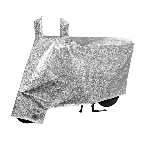 Motorcycle Cover Reflective Safety Clothing Flocking Thicken Silver Dust-proof Night Light Warning Rain UV Protector