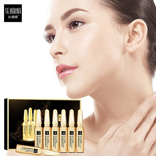Face Serum Skin Whitening Essence Hyaluronic Acid Nicotinamide Ampoule Acne Shrink Pores Hydration Moisturizing Improve Roughnes