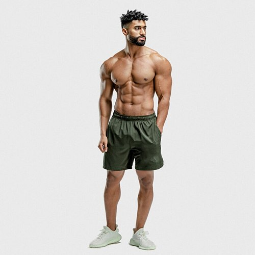 gym mens shorts Quick dry ropa deportiva hombre Solid running sweatpants Men Summer Fitness workout shorts sport short homme