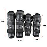 Motorcycle knee pads and elbow pads four-piece suit, racing protective gear, off-road motorcycle riding sports protective gear
