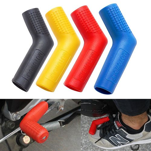 Universal Motorcycle Gear Shift Lever Rubber Sock Gear Shifter Boot Shoe Shift Case Moto Replacement Patrs Protectors Covers