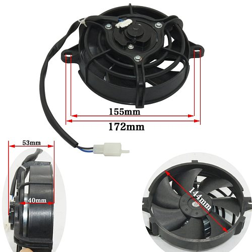 Motorcycle Performance radiator radiator fan rotating blades 200 cc to 250 cc scooters in the cooler NC250 ATV