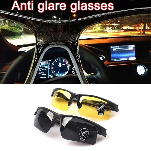 Car Cycling Glasses Anti-Glare Driving Glasses Protective Gears Sunglasses Night Vision Drivers Goggles Interior Accessories