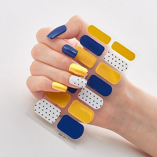 Three Sorts 0f Nail Stickers Nail Wraps DIY Creative Nails Sticker Designer Nail Decoration Designer Nail Decals Nail Designs