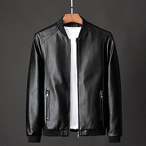 large size 7XL  8XL Men's Real Leather Jacket Men Motorcycle winter coat Men Warm Genuine Leather Jackets