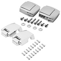 Motorcycle Trunk Latches Lock Pack Latch Hinges for Tour Pack Pak Touring Classic Road Electra Glide Ultra Razor