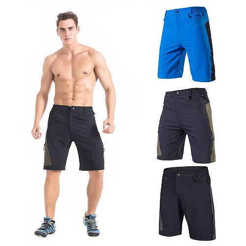 TOMSHOO KS6009M Cycling Shorts Men's Baggy Cycling Shorts Breathable Loose-Fit Outdoor Sports MTB Cycling Running Shorts EU Size
