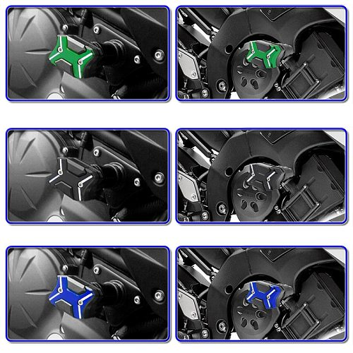 Frame Falling Protector for Suzuki GSXR1300 GSX1300R 2008-2015 CNC Aluminum Alloy Motorcycle Frames Slider Anti Crash Pads