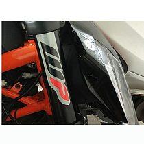 2 pieces Emblem Sticker Decal Motorcycle For KTM DUKE 390 690 1090 1190 1290  RC 390 WP suspension