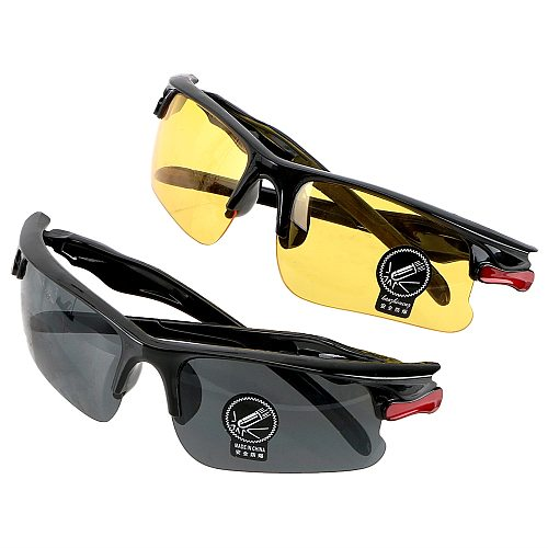 Night-Vision Glasses Protective Gears Sunglasses Night Vision Drivers Goggles Driving Glasses Interior Accessories Anti Glare Y