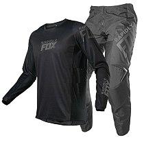 2021 New rapidly FOX 180/360 MX Motoross Jersey Pants Gear Set Motorcycle Combination Driving Riding GP PRO Motorbike Racing