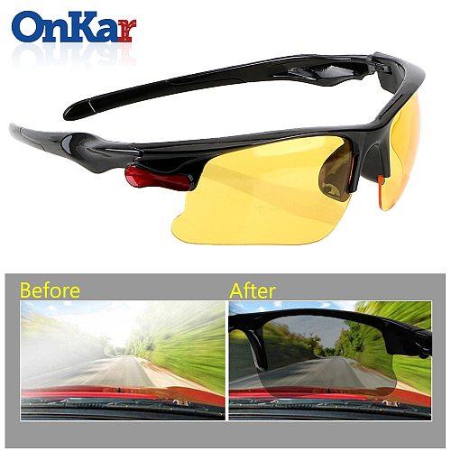 ONKAR Car Driving Glasses Night-Vision Glasses Protective Gears Sunglasses Interior Accessorie anti-UV/ anti-fog Protection
