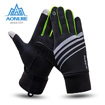 AONIJIE M51 Winter Unisex Sports Touchscreen Windproof Thermal Fleece Gloves Running Jogging Hiking Cycling Skiing Bicycle