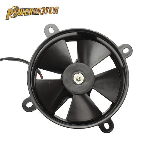 Universal Motorcycle Cooling Fan Radiator DC Cooler Power Fan Fit For 200-250cc Water-cooled Engine ATV Quad Go-kart Motocross