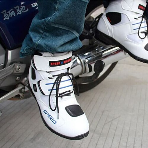 motorcycle shift gear boots Motocross botas motorbike Non-slip motorboats racing female male shoes