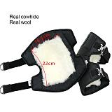 2020 New Motorcycle Warm Kneepad Motorbike Riding Knee Pads Windproof Coldproof Winter Outdoor Knee Protective Guard Real Wool