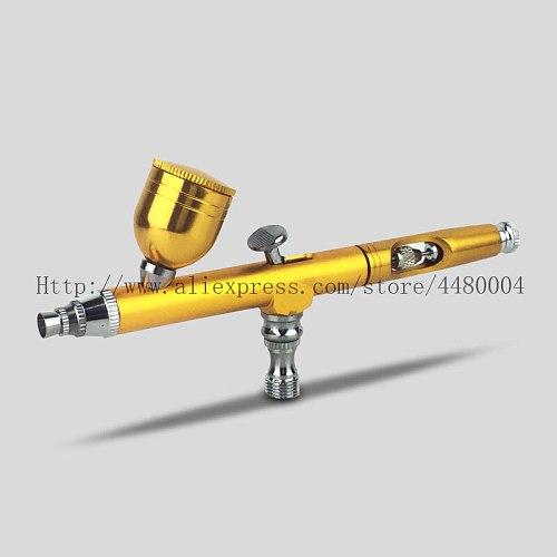 0.3mm airbrush mini spray gun gravity spray gun suitable for nail art/car spraying/cake/body painting