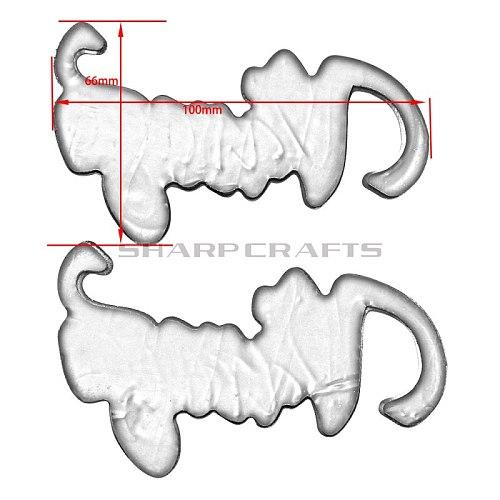 Motorcycle Stickers Fuel Gas Tank Emblem Badge 3D Decals For Yamaha Virago XV 125 250 400 XV125 XV250 XV400 XV535 XV700