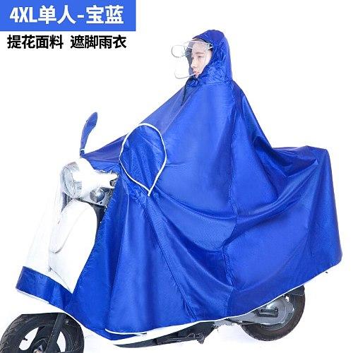 Waterproof Bike Raincoat Jacket Nylon Travel Raincoat Survival Outdoor Waterproof Capa De Chuva Moto Rider Rainsuit JJ60YY