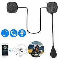 Motorcycle Helmet Bluetooth 5.0 Headset Anti-interference Moto Helmet Riding Intercom Wireless Hands Free Headphone MP3 Speaker