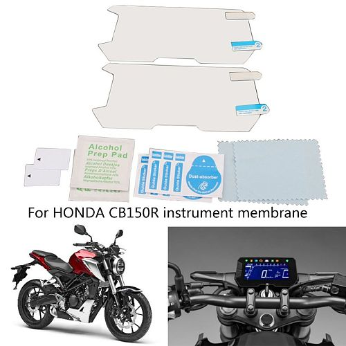 Cluster Scratch Cluster Screen Protection Film Protector for honda CB150R CB300R Q9QD