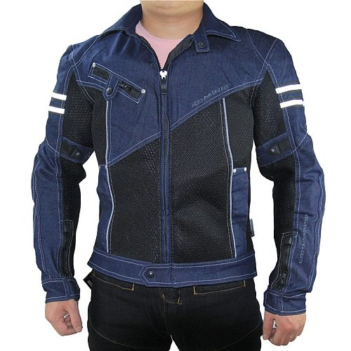 New Motorcycle Jacket Men's Motorcycle Riding Protective Suit Pants Jacket Full Set of anti-fall Protective Gear Spring Summer