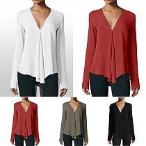 Za 2021 Summer Women Blouses Elegant Top Women's Blouse Shirts Plus Big Size Chic Tunic Ladies Long Sleeve Clothes 5xl 6xl