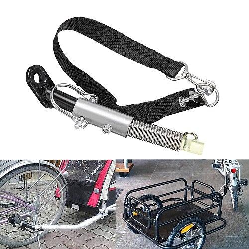 Universal Bike Trailer Baby/Pet Coupler Hitch Mount + Lock Linker Connector Attachment