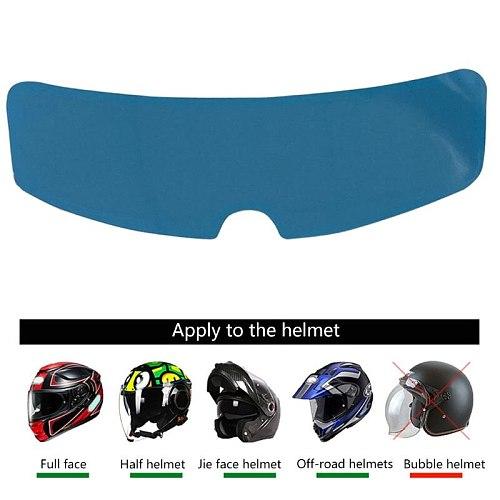 Universal Rainproof Patch Motorcycle Full Face Helmet for Helmets Lens Rainproof Visor