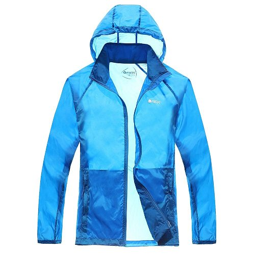 Rax WomanOutdoor Sport Skin Clothing UV Breathable Bike Cycling Coat Jacket Clothing Sunscreen Male Spring Summer Sun Protection