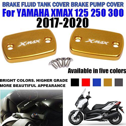 For YAMAHA X-MAX XMAX 300 125 XMAX 250 XMAX300 2017-2020 2019 Motorcycle Brake Fluid Tank Cap Brake pump Fluid Reservoir Cover