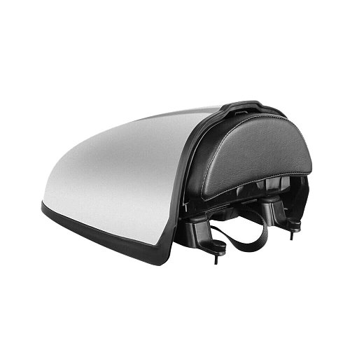 R9T Motorcycle Rear Pillion Seat Cowl Cover Hump Trunk Storage Box Fairing Tail for BMW R Nine T 2014-2020 (Silver)