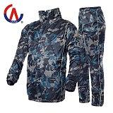 Adult Men's Rider Raincoat Motorcycle Riding 100% Waterproof Jakcets Suits Camouflage Rainproof Reflective Rainproof Suit