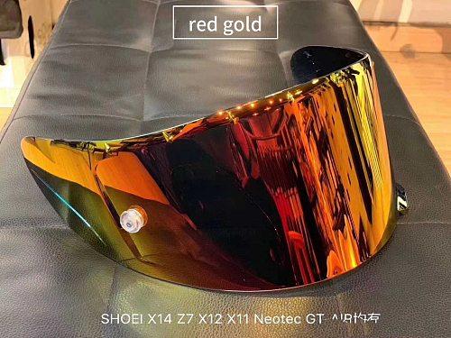 Motorcycle helmet anti fog Anti-UV PC visor Lens Model for SHOEI X14 full face helmet visor mirror Lens