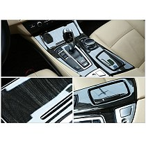 Stall Panel Decoration Frame Central Control Gear Box Transmission Panel Protective Shell For BMW X5 X6 Car Accessories Interior