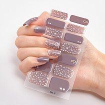 Foil Nail Art Stickers 2020 Minimalist Design Nail Decoration Three Sorts 0f Nail Stickers Nails Sticker Designer Women Salon