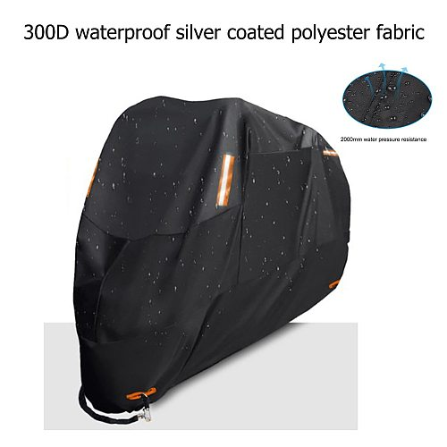Motorcycle Cover M L XL 2XL 3XL 4XL Universal Outdoor Uv Protector Waterproof Bike Rain Dustproof Motor Scooter Cover 300D