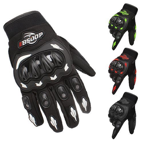 Motorcycle Gloves Full Finger Racing Gloves Outdoor Sports Protection Riding Cross Dirt Bike Gloves Guantes Moto Luvas
